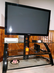 50 inch samsung tv with stand