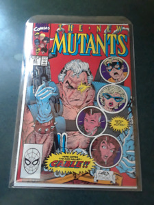 The new mutants marvel comic book issue 87
