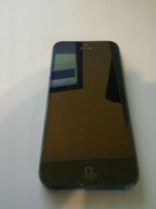 Black Iphone 5 Telus/Kodoo