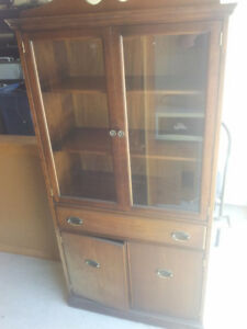 DISPLAY CABINET WITH GOOD GLASS DOORS
