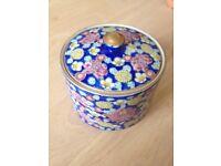 Antique Asian ceramic box