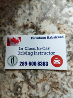 In-Car Driver Instructor ** SPECIAL OFFER**