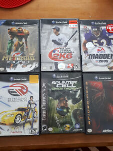 Various GameCube Games for Sale - Negotiable