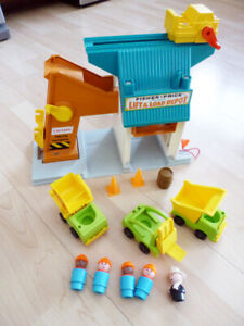 Fisher Price Little People Vintage - construction