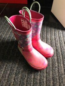 Bottes de pluie pour fille grandeur 11