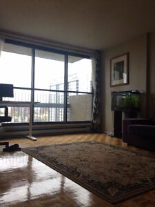 Luminous 3 ½.  1 min from metro station. All Included