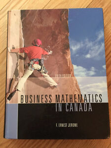 Business Mathematics in Canada (fifth edition) F.Ernest Jerome