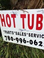 Hot tub sales and repair service