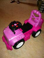 Jeep lego pour filles