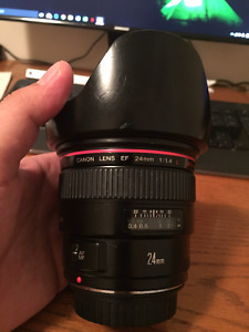 canon 24 mm F1.4 L MK1 lens