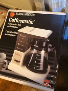 BLACK&DECKER COFFEE MAKER