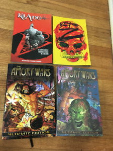 Graphic novels, various