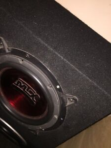 ^** MTX THUNDER SUBWOOFER IN TRUCK BOX  Kitchener / Waterloo Kitchener Area image 1