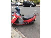 Yamaha vity 125cc 2008 MOT and tax