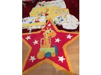 Little Circus Crib and Cot set