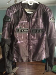 iicon Motorcycle Jacket Womans