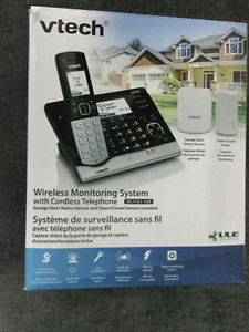 Vetch wireless monitoring system with cordless phone