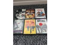 34 DVDs