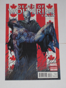 Marvel Comics Death of Wolverine#4 Canadian Variant comic book