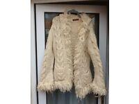 UTTAM LONDON chunky knit wool cardigan