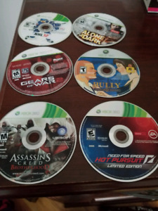 Xbox 360 loose games