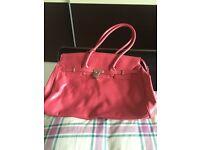 Large pink bag - PRICE REDUCTION