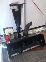 "Like new 48"" kimpex atv snowblower"