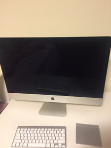 2012 Late iMac 27 inch BARELY USED