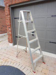 6' and 24' ext. ladder