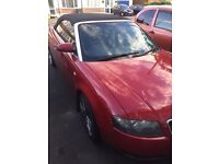 Audi A4 05 Cabriolet Convertible full service history Needs TLC