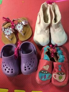 Toddler size 3 lot of shoes