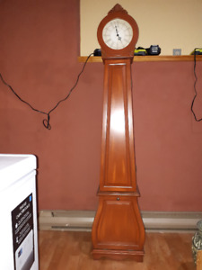 Clock with storage.