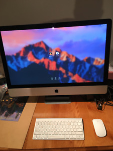 iMac 27-inch 3.4Ghz Intel Core i7 16GB DDR3