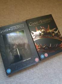 Game of thrones series 1 and 2 (DVD)
