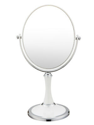 Double Sided Swivel Vanity Mirror with 3 x Magnification,Tabletop Makeup Mirror