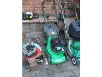 Petrol lawnmower spares and repairs