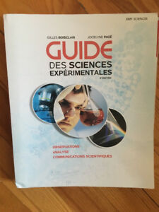 Guide des sciences experimentales