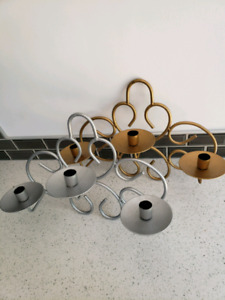 Filigrew candle/ jewelry stand - cute decor for pop up shops