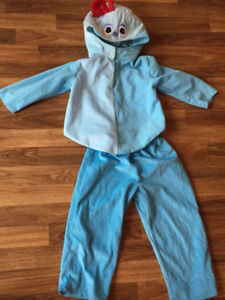 In the Night Garden Iggle Piggle costume size 3/4