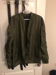 Elwood Green Bomber Jacket