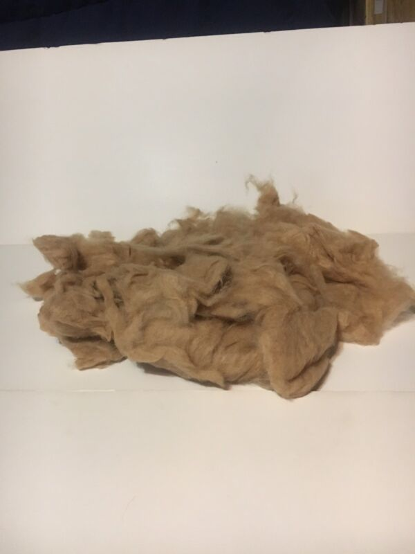 """""""Loose Camel Down Fiber"""" Loose Carded Chinese Perfect for Hand Spinning 4 oz"""