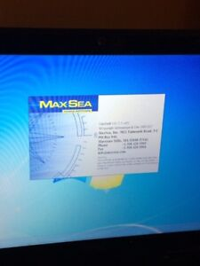 Laptop with 2 max sea programs