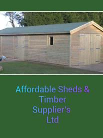 30x12 garage / shed