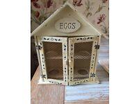 Shabby Chic Egg Hut/Cage - £5