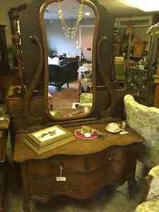 We have massive selection of antique furniture