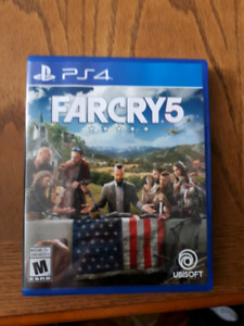 Fra Cry 5 PS4 for sale!