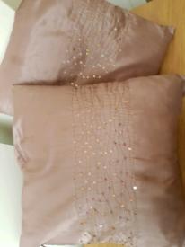 4 Beigy/Stone Cushions - living room/Bedroom