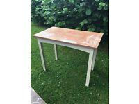 SHABBY CHIC PROJECT hall /kitchen table