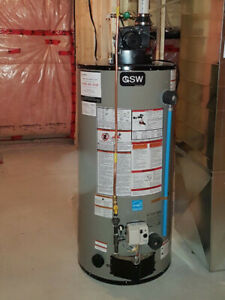 Water heaters $1250 installed