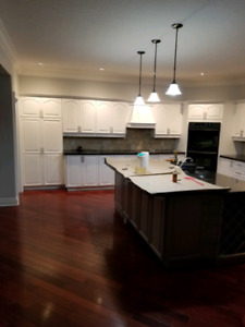 Refinish and refacing your kitchen cabinets from $1700 to$6000